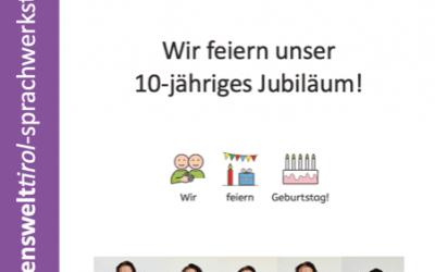 10 Jahre Jubiläumsblatt